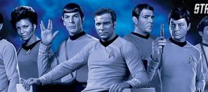 12x36-Star-Trek-Cast-Blue-Television-Poster-0