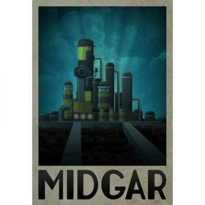 13x19-Midgar-Retro-Travel-Poster-0