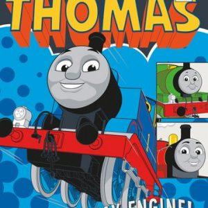 16x20-Thomas-the-Tank-Engine-Runaway-Train-Mini-Poster-Childrens-Television-Poster-0