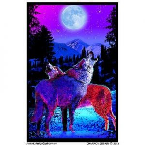 23x35-Timberwolves-Flocked-Blacklight-Poster-0