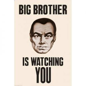24x36-Big-Brother-is-Watching-You-1984-Poster-0