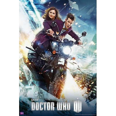 24x36-Doctor-Who-Bike-Television-Poster-0