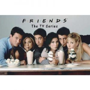 24x36-Friends-Milkshakes-Television-Poster-0