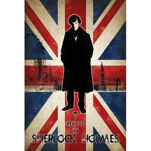 24x36-I-Believe-in-Sherlock-Holmes-Television-Poster-0