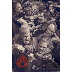 24x36-Sons-of-Anarchy-Fighting-Television-Poster-0