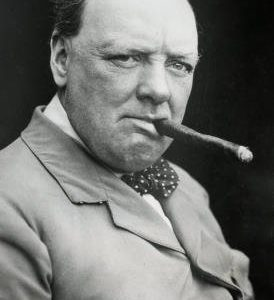 24x36-Winston-Churchill-Smoking-Cigar-Archival-Photo-Poster-Print-0