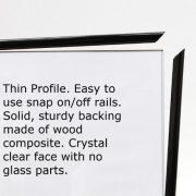 27x40-Movie-Poster-Frame-Strong-Pressboard-Backing-Black-Vinyl-Edges-27-X-40-Poster-Frame-0-0