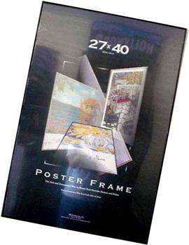 27x40-Movie-Poster-Frame-Strong-Pressboard-Backing-Black-Vinyl-Edges-27-X-40-Poster-Frame-0