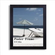 Adeco-PF0378-Black-Wood-125-Inch-Wide-Margin-Poster-Photo-Picture-Frame-11x14-Inch-0-1