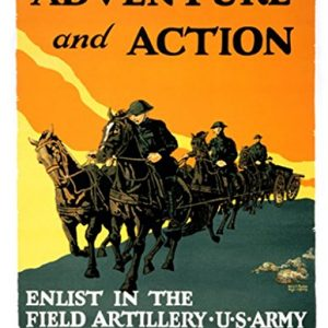 Adventure-and-Action-Enlist-In-The-Field-Artillery-US-Army-by-Harry-S-Mueller-20x30-Canvas-Gicle-Gallery-Wrap-0