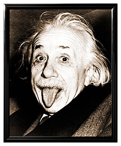 Albert-Einstein-Sticking-Tongue-Out-Genius-Philosopher-Celebrity-Poster-Print-Z-Framed-8x10-0