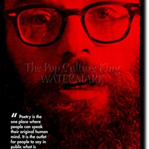 Allen-Ginsberg-Art-Print-High-resolution-photo-poster-with-iconic-quote-A-completely-unique-gift-idea-Size-12x8-inches-0