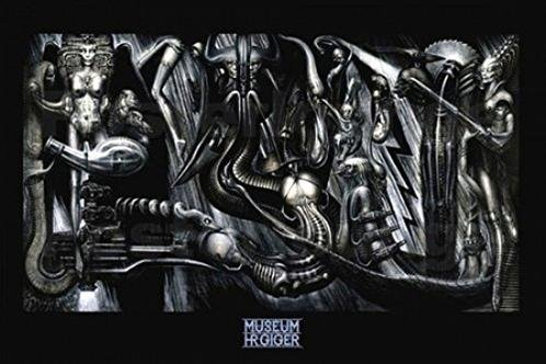 Anima-Mia-by-HR-Giger-36x24-Fantasy-Science-Fiction-Art-Print-Poster-0
