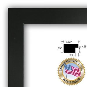 ArtToFrames-24x36-inch-Satin-Black-Picture-Frame-WOMFRBW26079-24x36-0