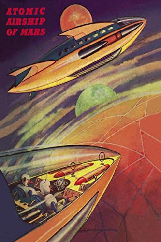 Atomic-Airships-of-Mars-by-Retro-Sci-Fi-Science-Fiction-Vintage-Print-Poster-16x24-0
