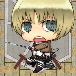 Attack-On-Titan-SD-Armin-Fabric-Poster-by-GE-Animation-0