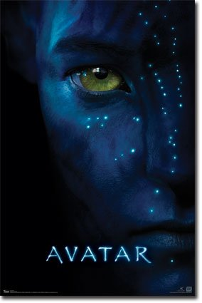 Avatar one sheet epic sci fi adventure action movie film poster print 24x36 unframed poster - Avatar poster ...