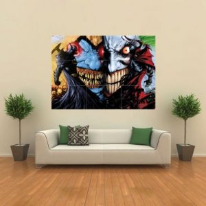 BATMAN-VS-SPAWN-HORROR-GOTHIC-GIANT-PRINT-POSTER-G109-0
