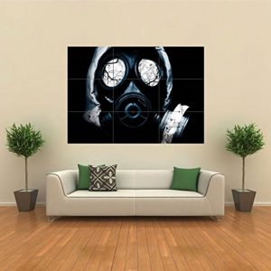 BLACK-GAS-MASK-HORROR-GOTHIC-NEW-GIANT-POSTER-WALL-ART-UNIQUE-PRINT-PICTURE-G111-0