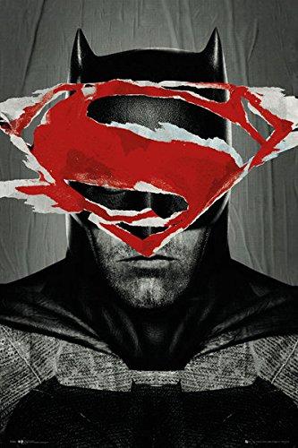 Batman-Vs-Superman-Dawn-of-Justice-Teaser-Superhero-Action-Movie-Film-Poster-Print-24-by-36-0