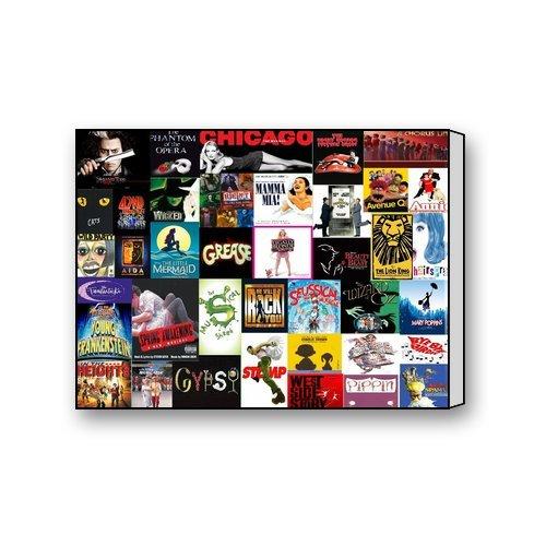 Broadway-Musical-Collage-Custom-Wall-Decor-Photo-Art-Canvas-Print-16-X-12-Inch-0