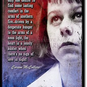 Carson-McCullers-Art-Print-High-resolution-photo-poster-with-iconic-quote-A-completely-unique-gift-idea-Size-12x8-inches-0