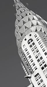 Chrysler-Building-BW-Photography-Art-Print-Poster-12x36-0