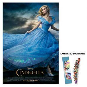 Cinderella-2015-13x19-Borderless-Movie-Poster-Main-FREE-BOOKMARK-0