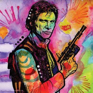 Dean-Russo-Solo-Hero-Science-Fiction-Sci-Fi-Movie-Film-Modern-Art-Decorative-Poster-Print-12x12-0