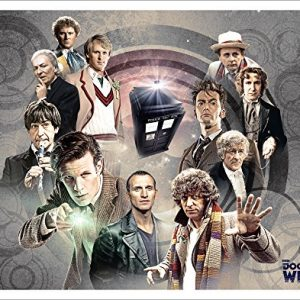 Doctor-Who-Doctors-Collage-Sci-Fi-British-TV-Television-Show-Poster-Print-Unframed-11x14-0