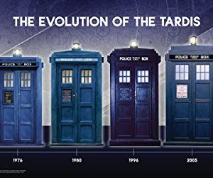 Doctor-Who-Evolution-of-the-Tardis-Sci-Fi-British-TV-Television-Show-Poster-Print-12x24-0