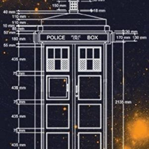 Doctor-Who-Tardis-Blueprint-Measurements-36x24-Art-Print-Poster-Television-Wall-Decor-Police-Call-Box-BBC-Science-Fiction-0