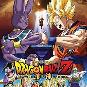 DragonBall-Z-Battle-of-the-Gods-Fighting-36x24-Animation-Art-Print-Poster-0