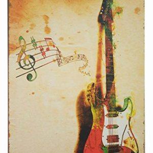 ERLOOD-Music-Poster-Guitar-Retro-Metal-Vintage-Decor-Tin-Signs-12-X-8-0