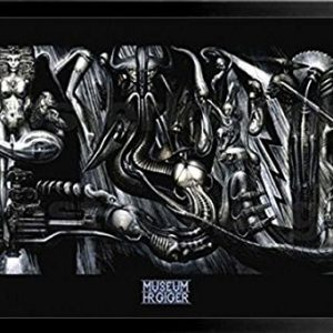 FRAMED-Anima-Mia-by-HR-Giger-36x24-Fantasy-Science-Fiction-Art-Print-Poster-0
