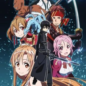Fabric-Poster-Sword-Art-Online-New-Group-Anime-Wall-Art-ge79337-0