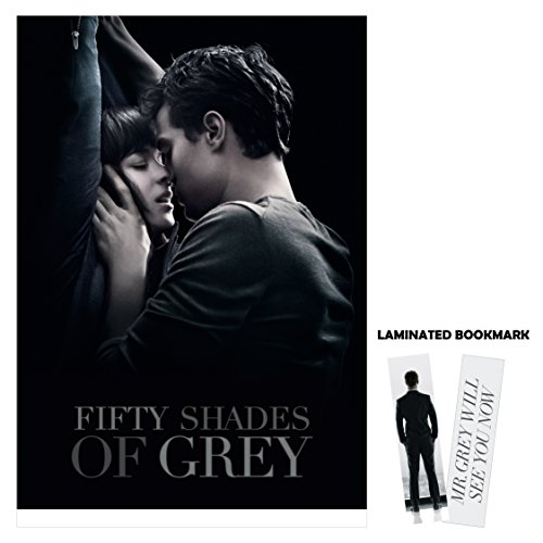 Fifty-Shades-of-Grey-2014-Kiss-Movie-Poster-Reprint-13-x-19-Borderless-FREE-BROOKMARK-0