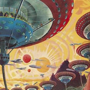 Floating-Colonies-of-Mizar-by-Retro-Sci-Fi-Science-Fiction-Space-Vintage-Print-Poster-20x30-0