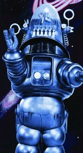 Forbidden-Planet-Featuring-Robby-Robot-Classic-Sci-Fi-Science-Fiction-Movie-Film-Poster-Print-12x36-0