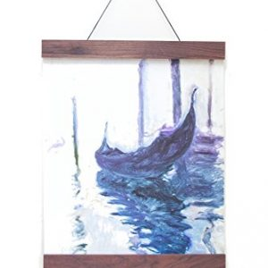 Frameless-Frame-Art-Hanger-16-Inch-Beautiful-Walnut-Wood-Displays-Prints-Posters-Photos-Kids-Work-in-Home-Office-Classroom-Non-Damaging-Modern-Design-Walnut-16in-0