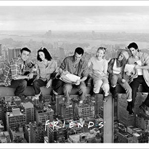 Friends-Over-New-York-NY-TV-Romantic-Sitcom-Television-Show-Postcard-Poster-Print-Unframed-11x14-0