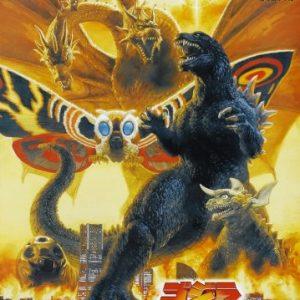 Godzilla-Mothra-and-King-Ghidorah-Giant-Monsters-All-Out-Attack-Gojira-Mosura-Kingu-Gidor-Daikaij-skgeki-2001-Japanese-Movie-Poster-24x36-0