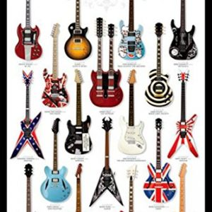 Guitar-Heaven-Music-Poster-Print-24-by-36-Inch-0