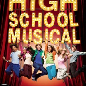 HIGH-SCHOOL-MUSICAL-POSTER-Cast-Jumping-RARE-NEW-0