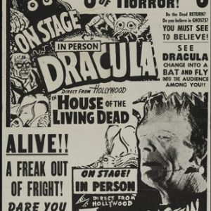 HORROR-SHOW-POSTER-Movie-Festival-RARE-HOT-VINTAGE-0