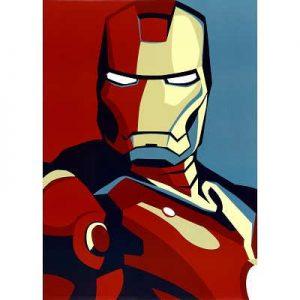 Iron-Man-2-Movie-Artistic-Stylized-Iron-Man-Art-Poster-Print-24x36-0