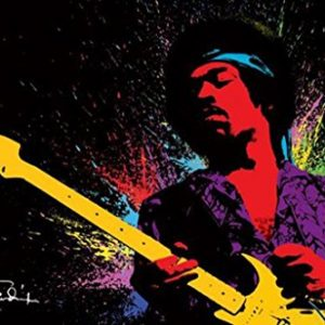 Jimi-Hendrix-Paint-Music-Poster-Print-24-by-36-Inch-0
