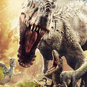 Jurassic-World-Attack-Sci-Fi-Action-Dinosaur-Film-Movie-Print-Poster-24-by-36-0