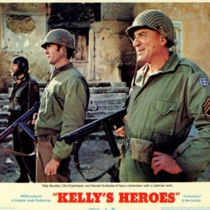 Kellys-Heroes-Movie-Poster-11-x-14-Inches-28cm-x-36cm-1970-Style-D-Clint-EastwoodDonald-SutherlandTelly-SavalasGavin-MacLeodDon-RicklesCarroll-OConnor-0