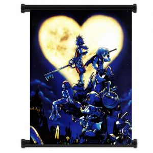 Kingdom-Hearts-Game-Fabric-Wall-Scroll-Poster-32x42-Inches-by-WUKE-0